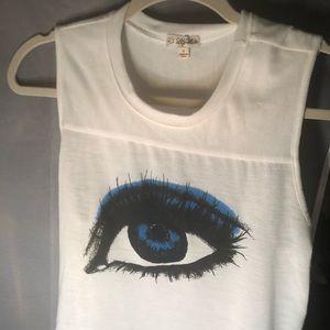 My eye trendy tank top